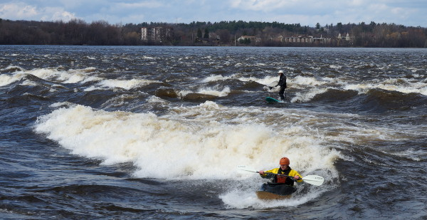 Champlain rapids at 59.36m on the Britannia gauge