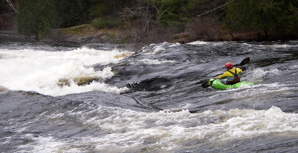 Graham Ball on the Upper Petawawa